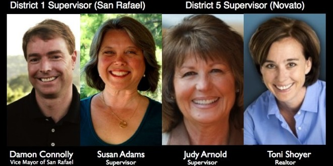 Debates Scheduled for Marin Supervisors' Race